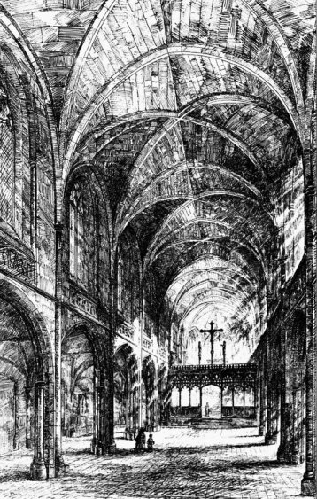 Architectural Interior Sketch